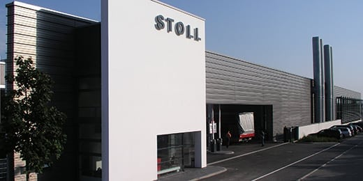 photo of the Stoll knitting-machines-company-buidling, valantic Case Study