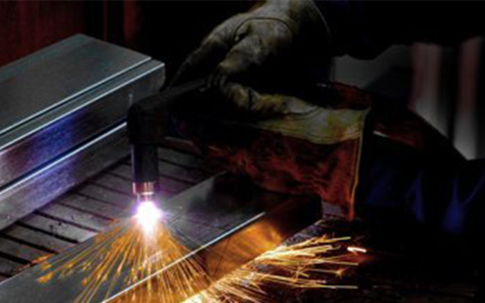 Image of a man at work with metal, valantic case study storms