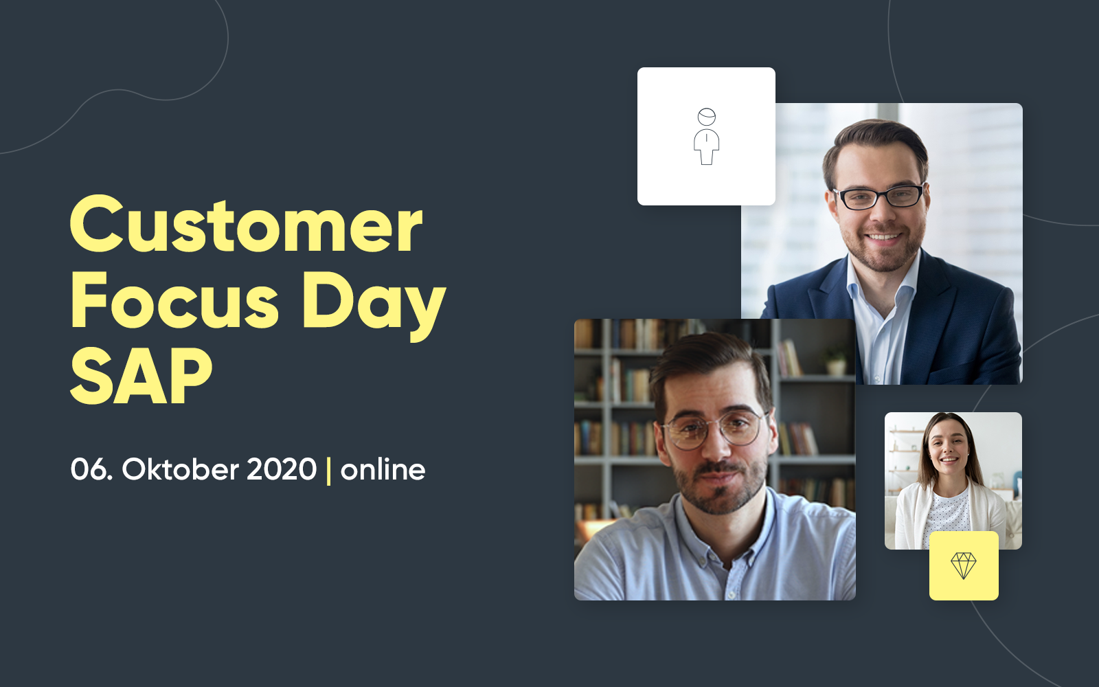 valantic Customer Focus Day SAP am 6. Oktober 2020, kostenloses Online-Event