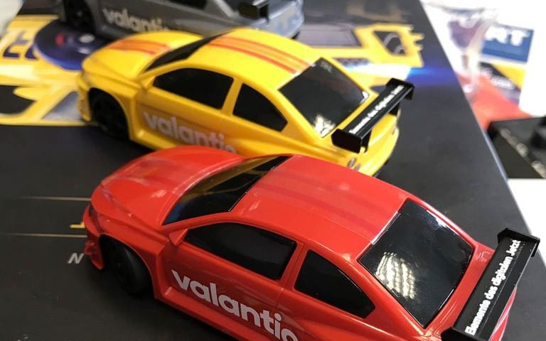 Image of toy cars at valantic Drift Showcase