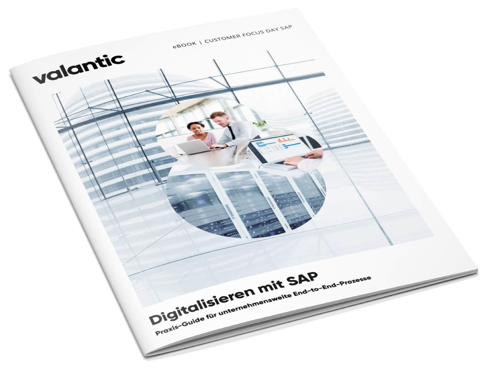 Bild vom Whitepaper Digitalisieren mit SAP