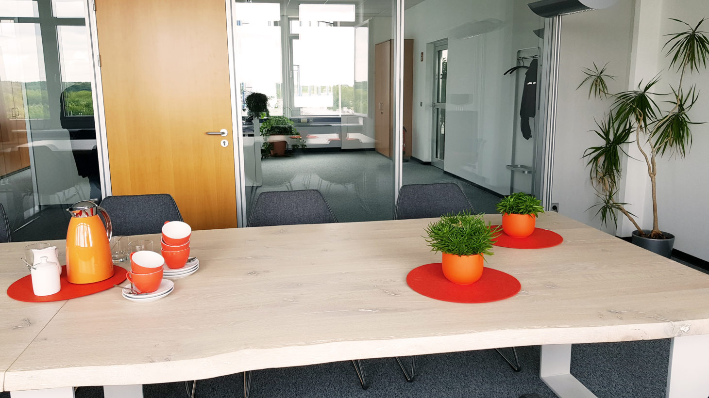 Conference room, valantic ERP Consulting, Langenfeld
