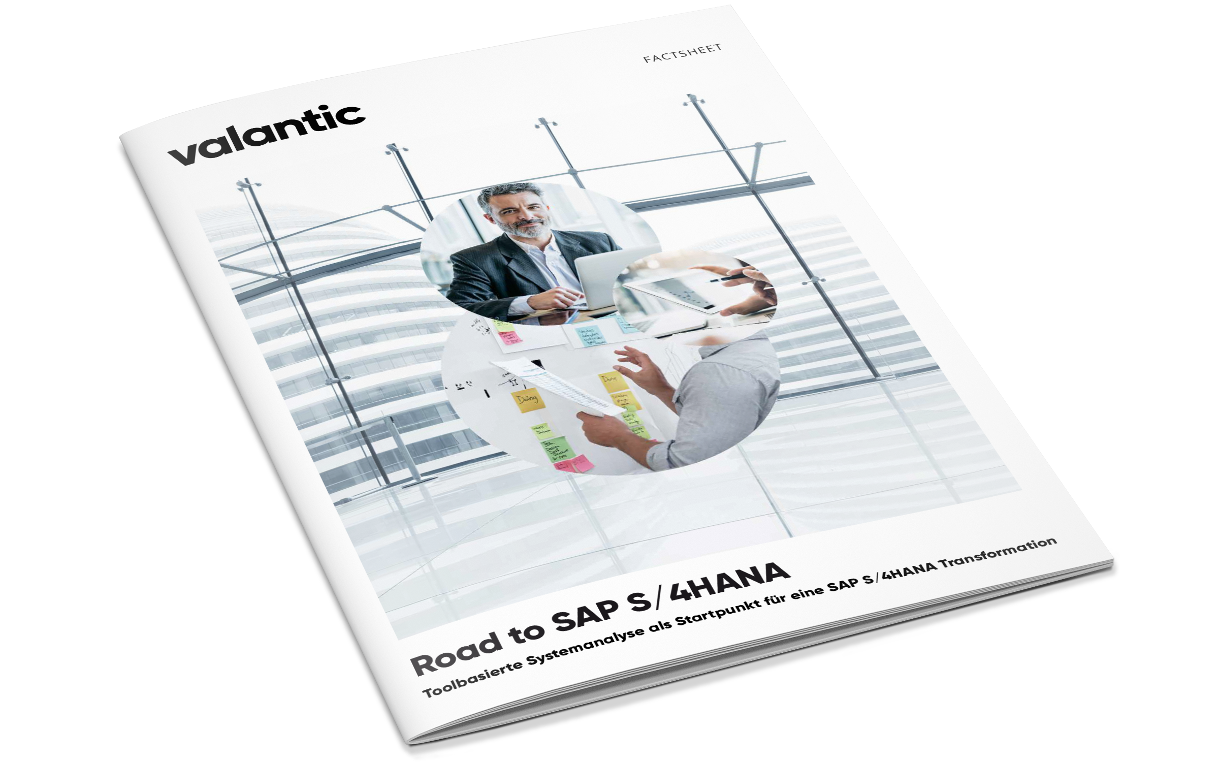 Cover des Factsheets: Road to SAP S/4HANA