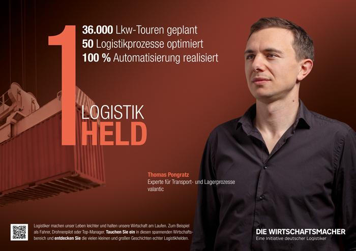 Logistikheld Thomas Pongratz