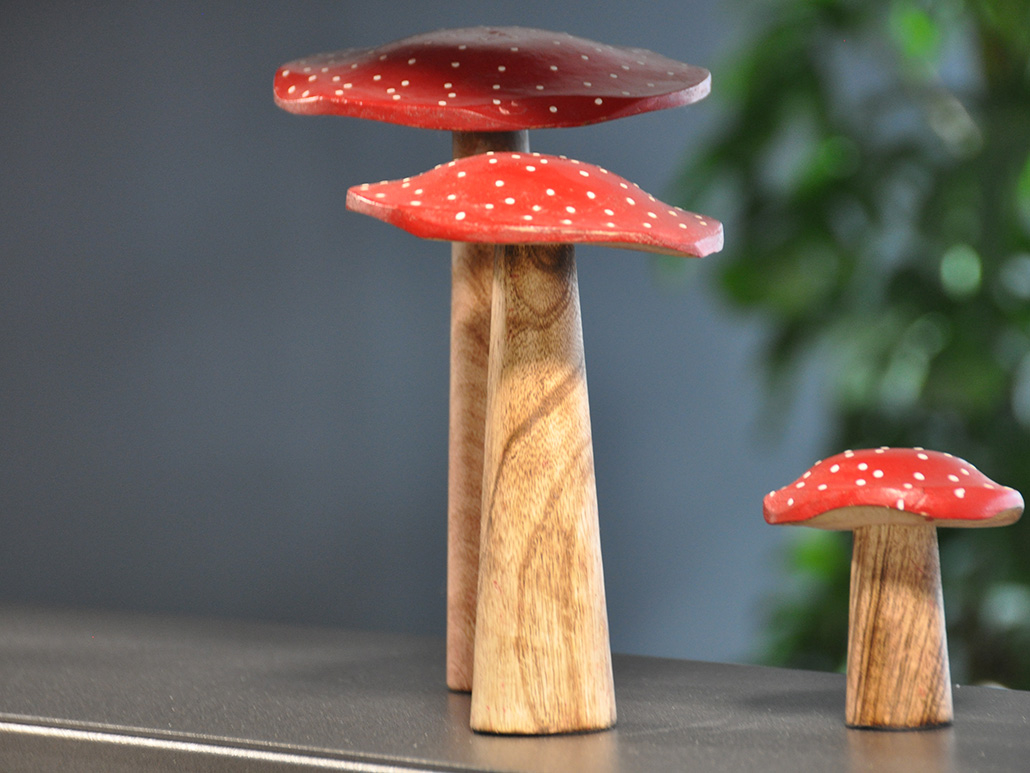 Bild von Pilzen aus Holz, valantic Niederlassung München