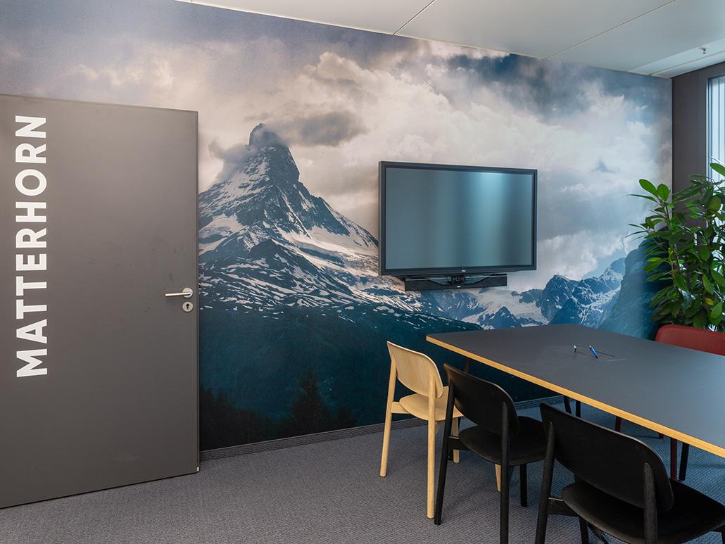 Bild eines Konferenzraums, valantic Niederlassung München