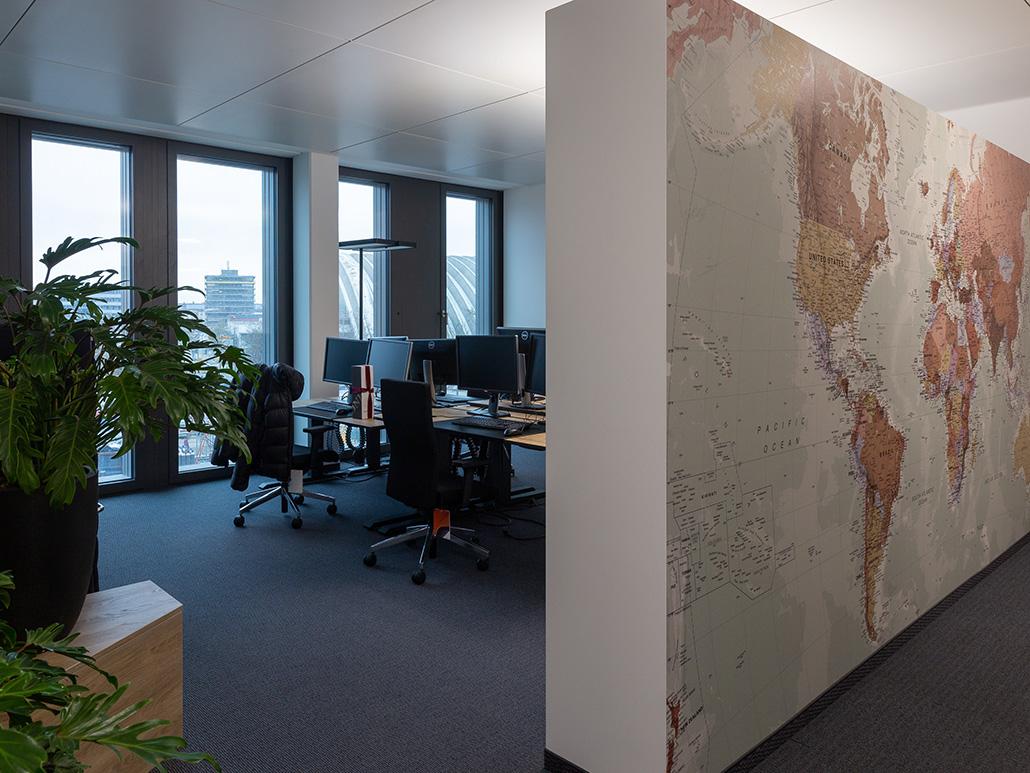 Bild von Arbeitsplätzen, valantic Niederlassung München