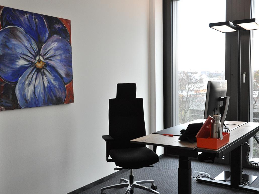 Bild eines Büros, valantic Niederlassung München