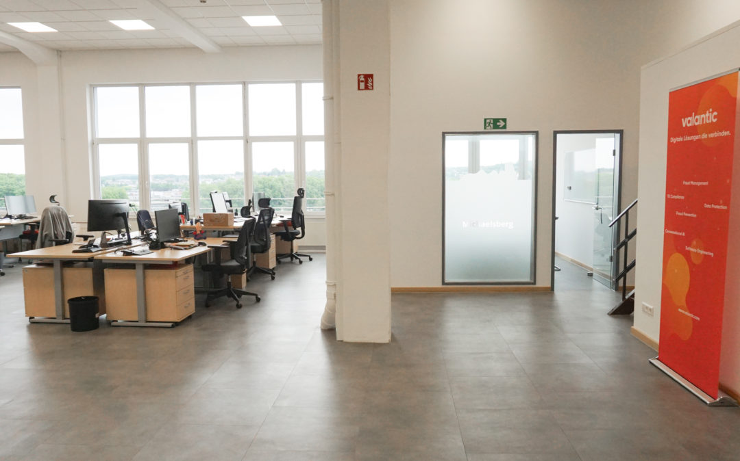 Image of office space, valantic Siegburg branch