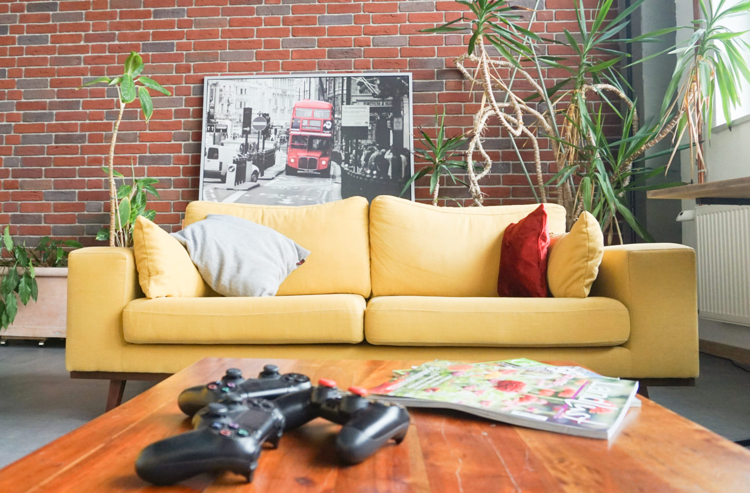 Image of a sofa corner, valantic branch Siegburg