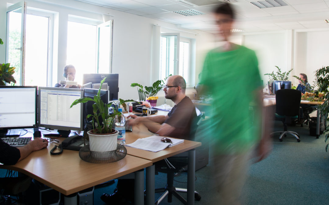 Picture of an office, branch valantic TS Magdeburg