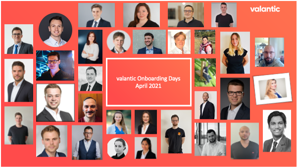 valantic Onboarding Days in April 2021