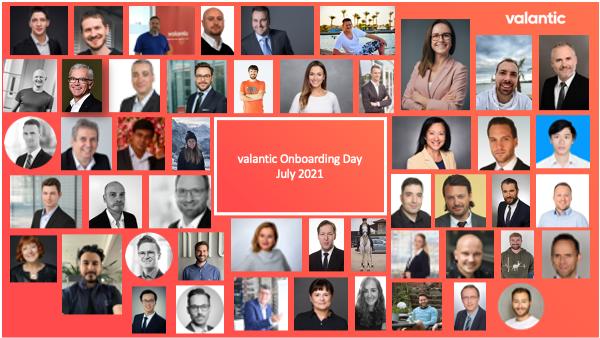valantic Onboarding Days in July 2021