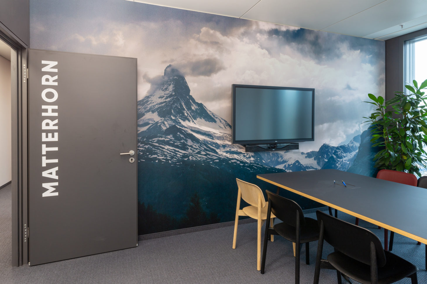 Picture of a meeting room, valantic branch Supply Chain Excellence Munich
