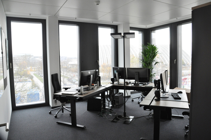 Branch of valantic Supply Chain Excellence in Munich, picture of an office