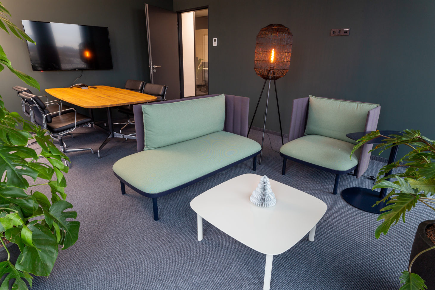 Picture of a conference room, valantic Supply Chain Excellence Munich branch
