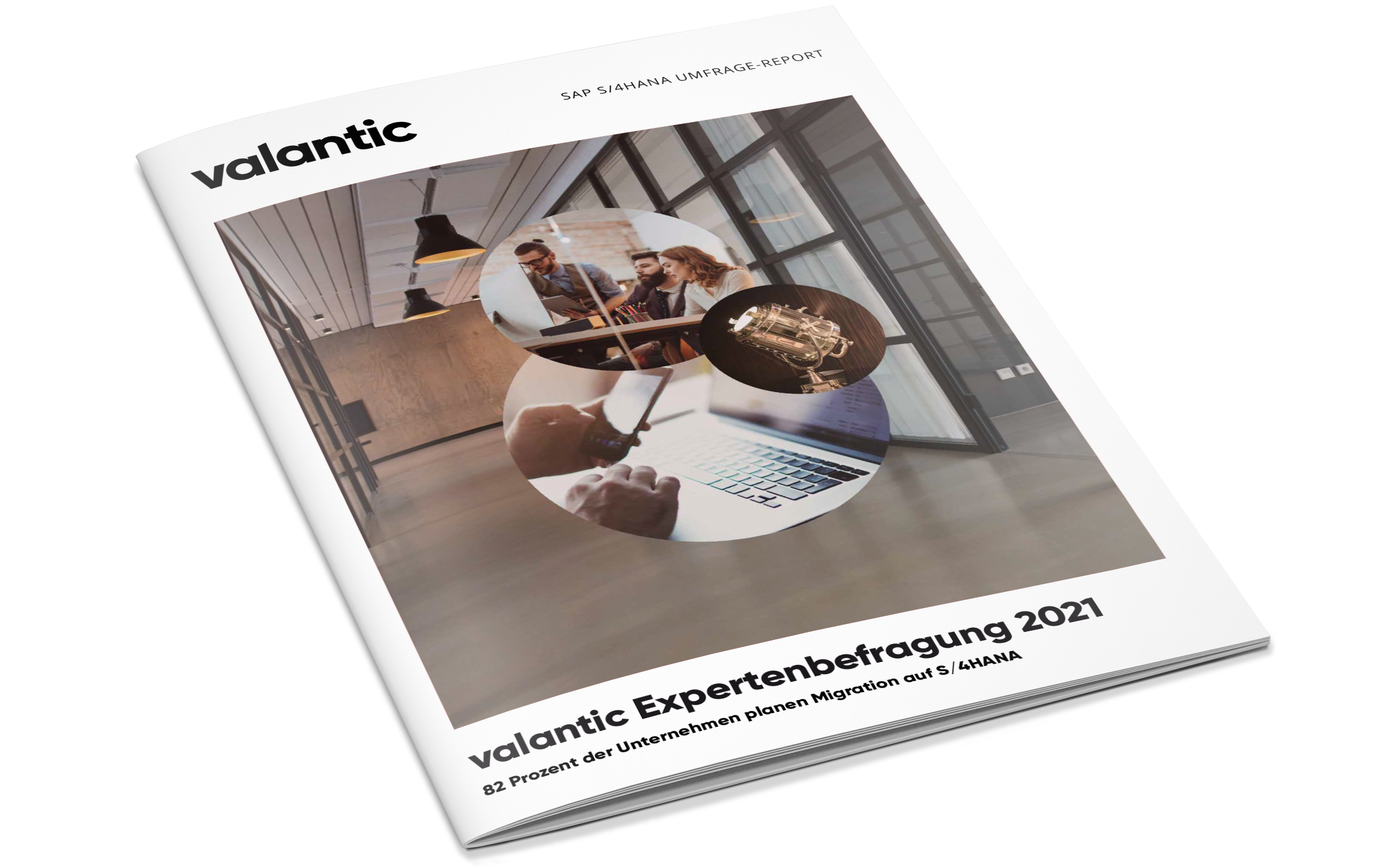 Cover des Studien-Reports zu valantics SAP S/4HANA Expertenbefragung